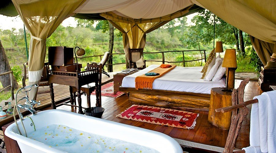 Mara-Explorer-Camp7 - Kenya and Mauritius Honeymoon Holiday Package