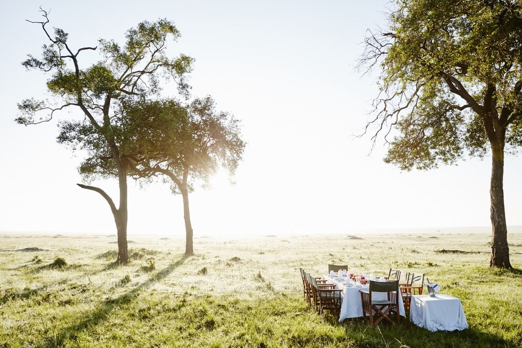 Masai-Mara-Hot-Air-Balloon-Safari-Champagne-breakfast - Masai Mara Hot Air Balloon