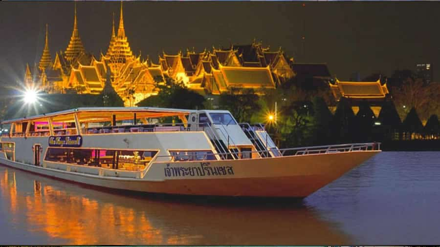 Evening-Tour-River-of-King-Dinner-Cruise - 4 Nights' Bangkok Package