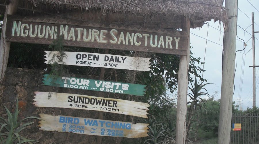 Nguuni-Nature-Sanctuary - A list of Top 10 places to visit in Mombasa County